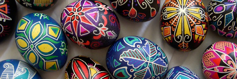 Pysanky; Ukrainian Decorated Egg Workshop