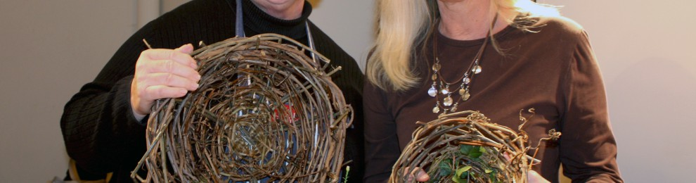 Invasive Vine Basket Making at Mt. Cuba Center