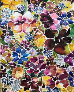 Botanical Art-Watercolor Paper-Artist Susan Benarcik