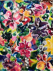 Botanical Art-Watercolor Paper-Artist Susan Benarcik