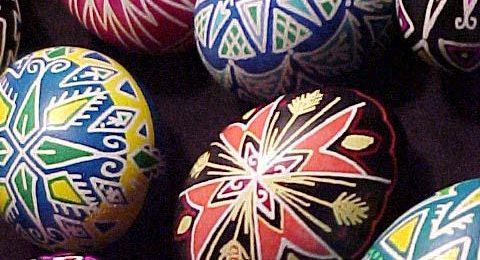Create Beautiful Ukrainian Easter Eggs